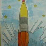 """Виставка """"Крізь космічні простори зоряним шляхом"""""""